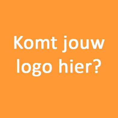 Komt Jouw Logo Hier Oranje